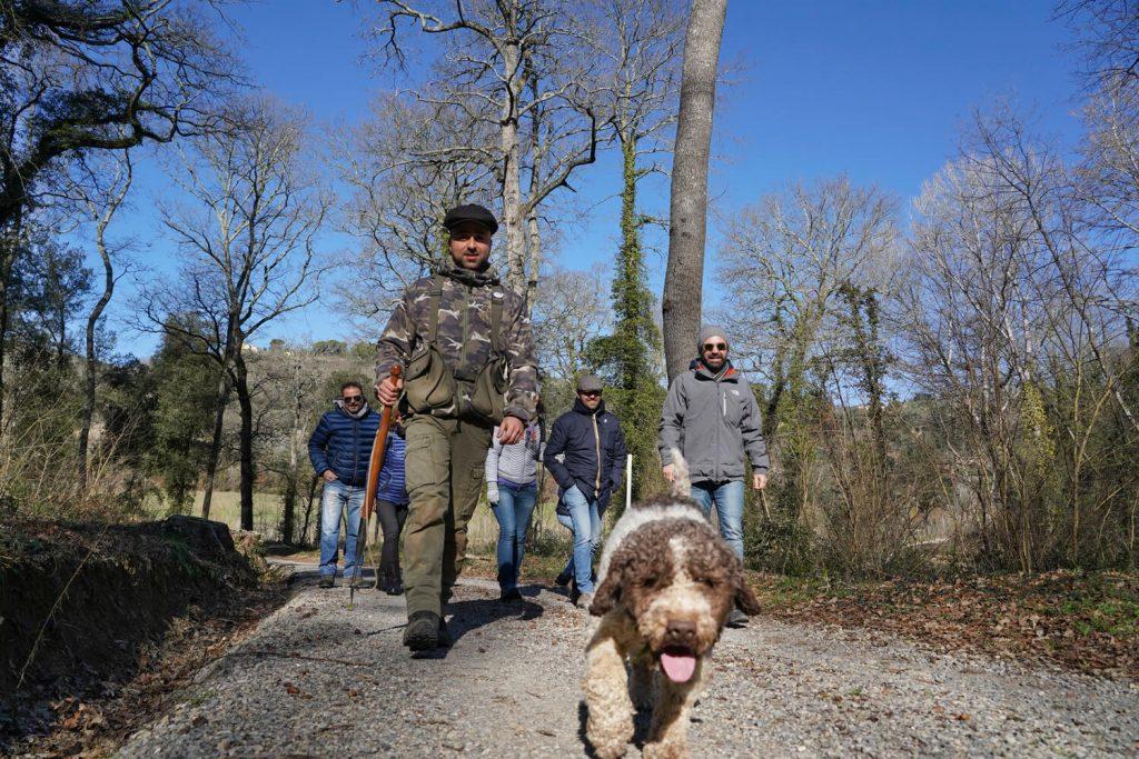asti truffle hunting