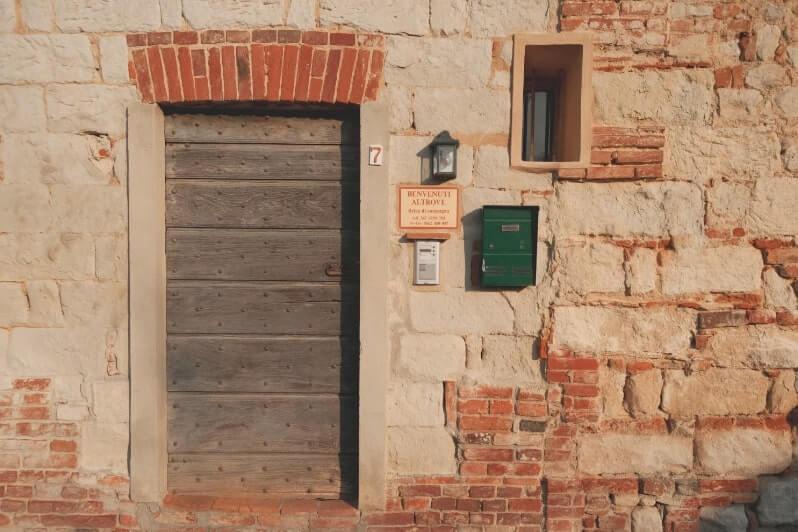 Cella Monfe front door 1