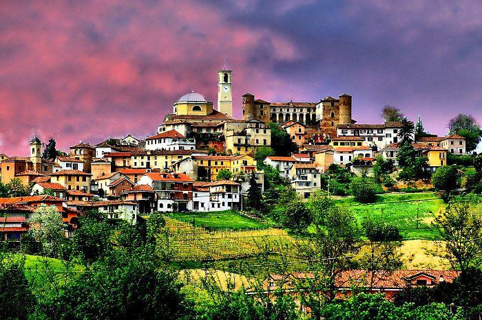 Montegrosso D'Asti Castle