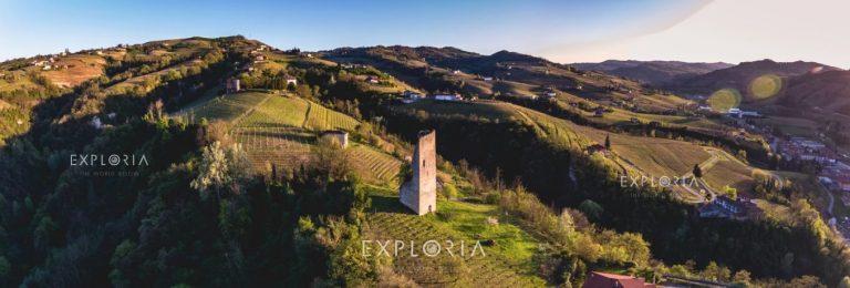 Santo Stefano Belbo asti piedmont landscape