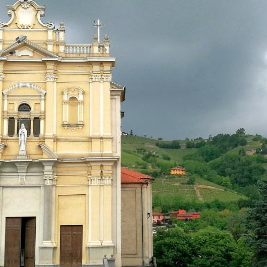 Santo stefano belbo church