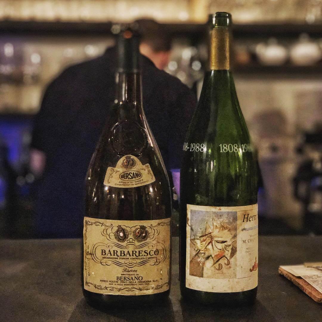 barbaresco bersano italian wine bottle