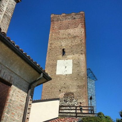 barbaresco tower in piedmont