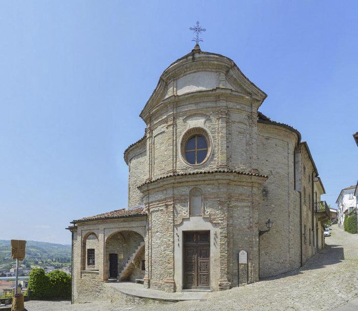 chiesa di san rocco - Canelli Piemonte