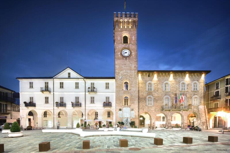 nizza monferrato town hall tower