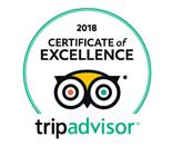 Tripadvisor excellence logo 2018