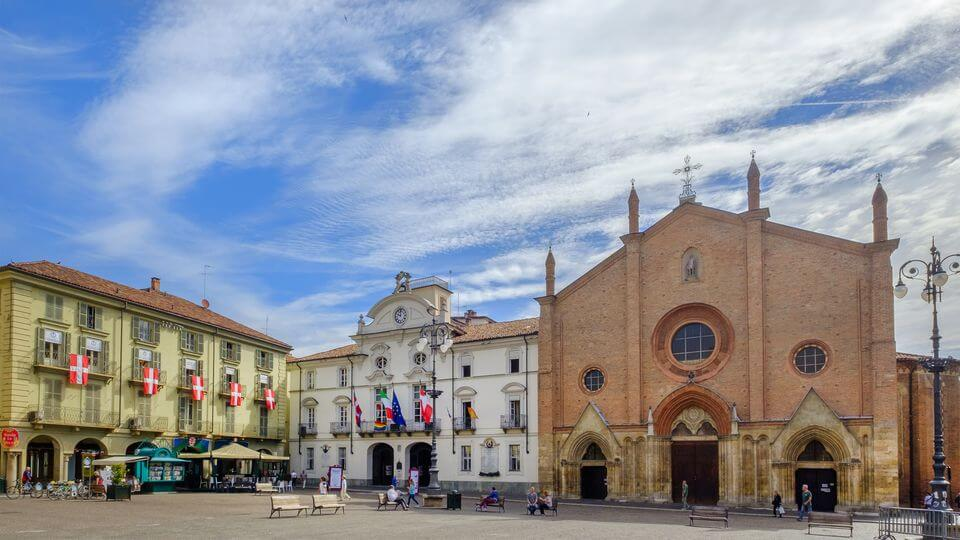 Asti city center