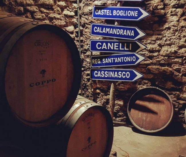 Coppo's Barrles, Canelli, Piedmont
