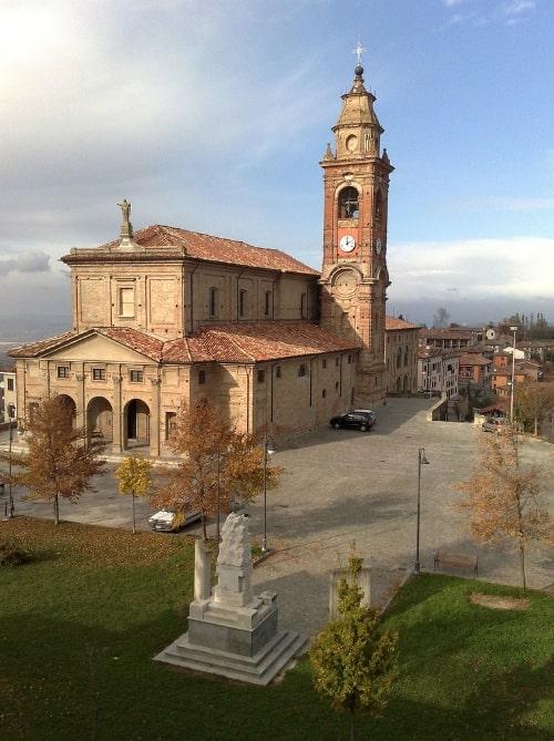 Diano D'Alba Parish Church