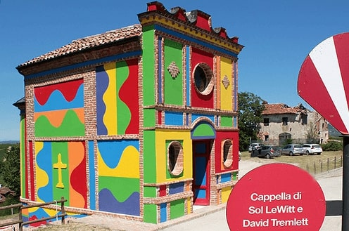 Cappella del Barolo - Design by Sol Le Witt e David Tremlett