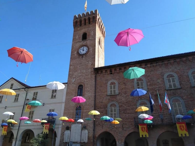 Nizza Monferrato city center