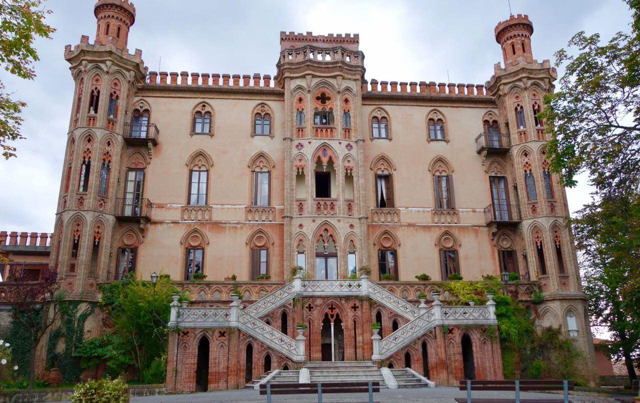 Novello Castle, Langhe, Piedmont, Italy