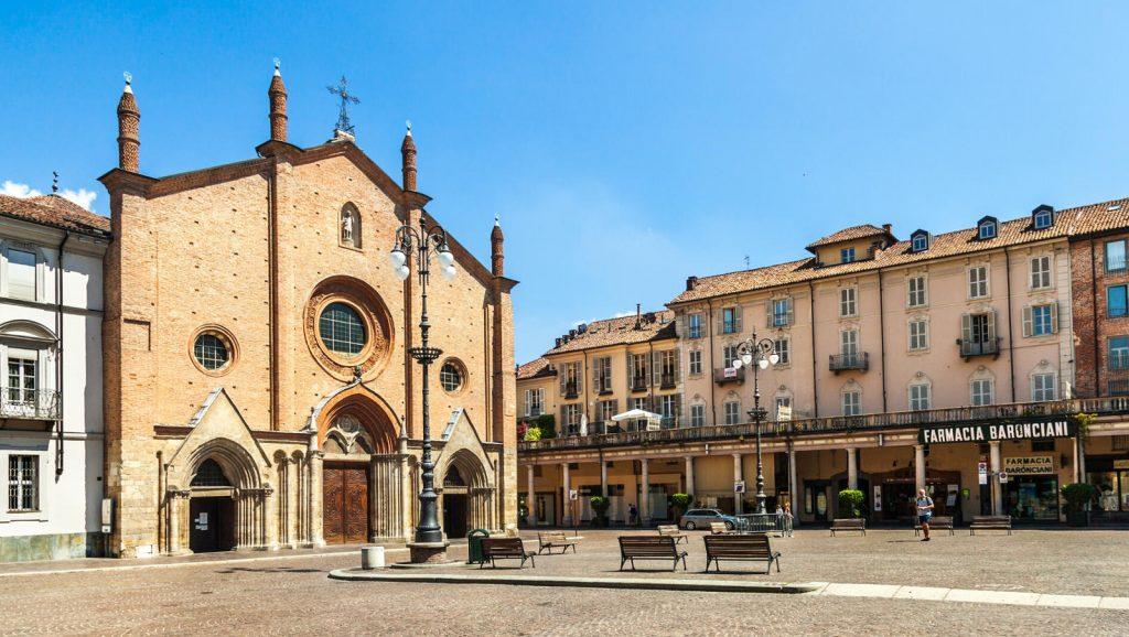 Piazza San Secondo Asti