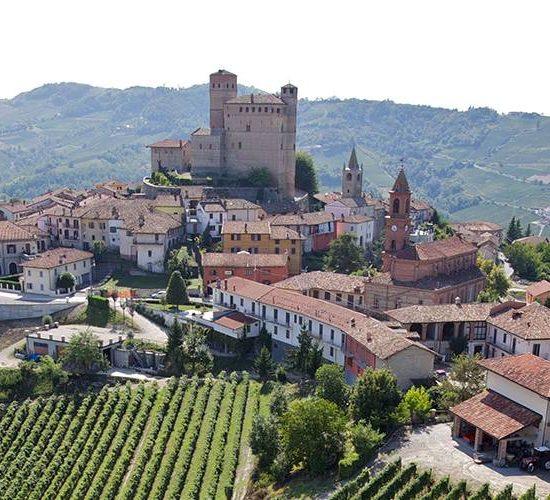 Serralunga D'Alba Castle Landscape