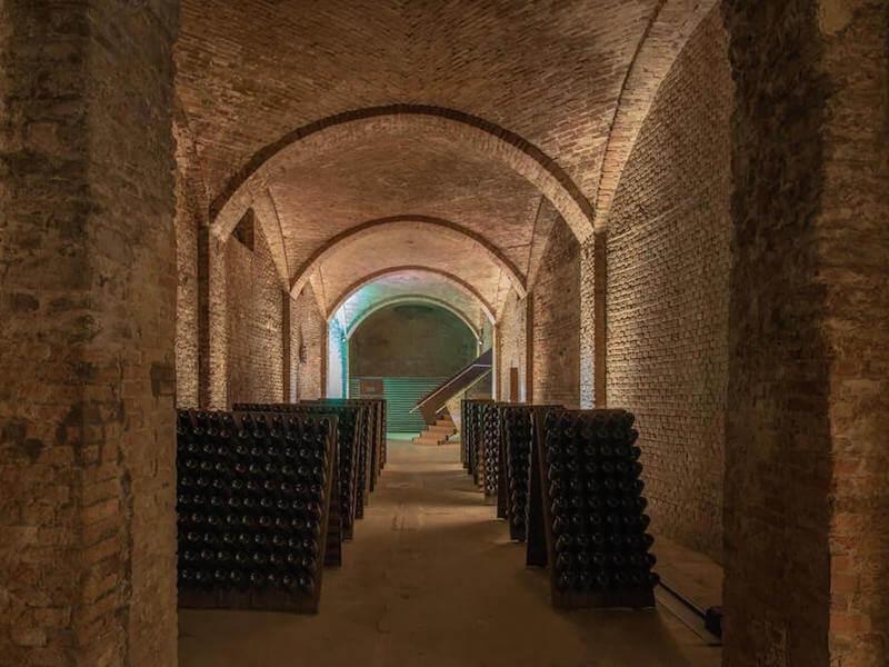 Underground Cathedral Canelli Bosca