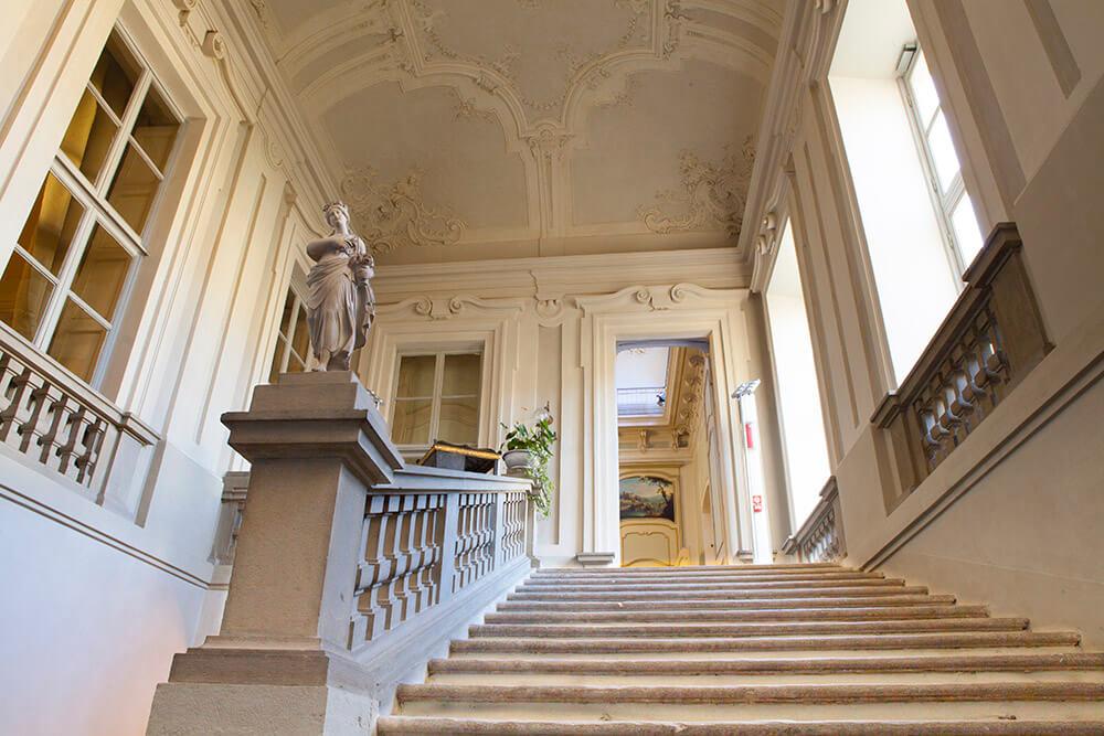 inside mazzetti palace asti
