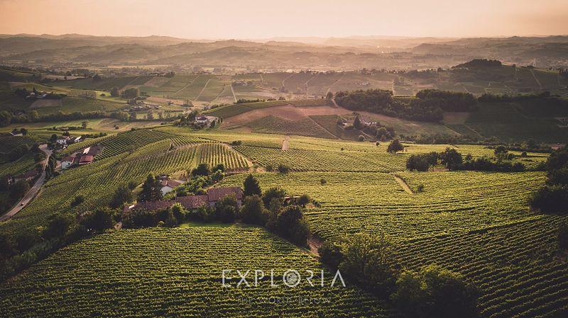 fotografia drone nizza monferrato