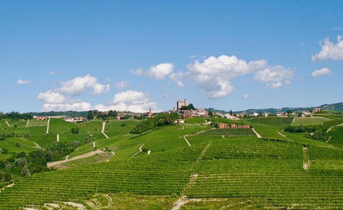 Landscape of Serralunga d'Alba