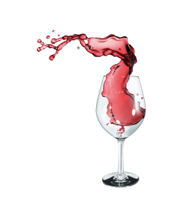Red Wine glass vector icon