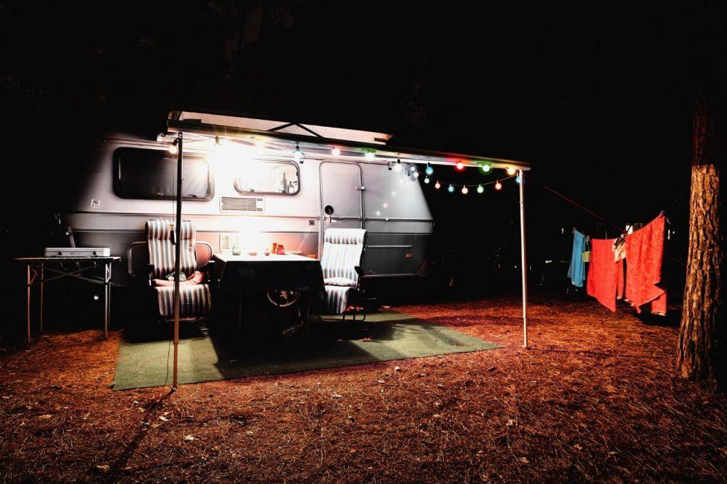 Stop Camper area