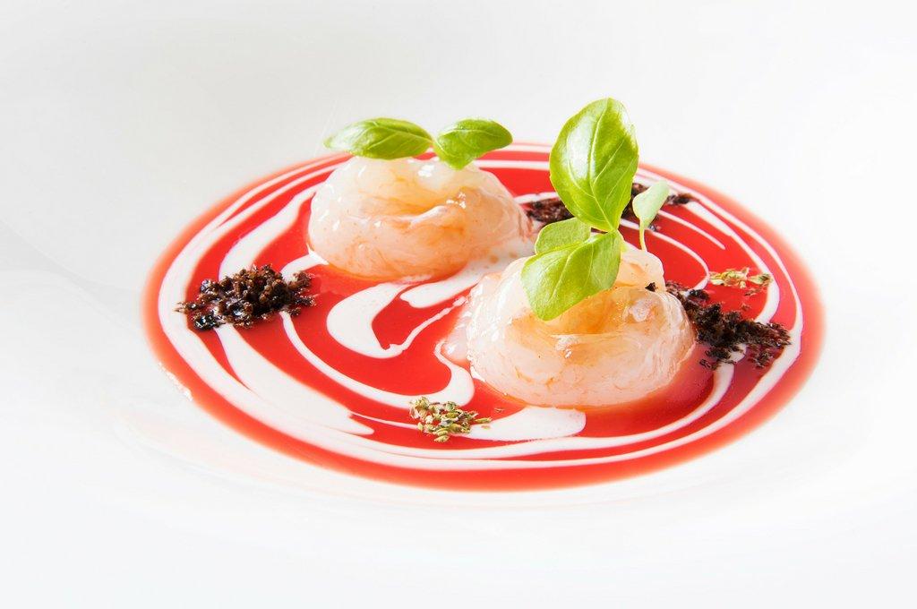 Villa Crespi Restaurant dish