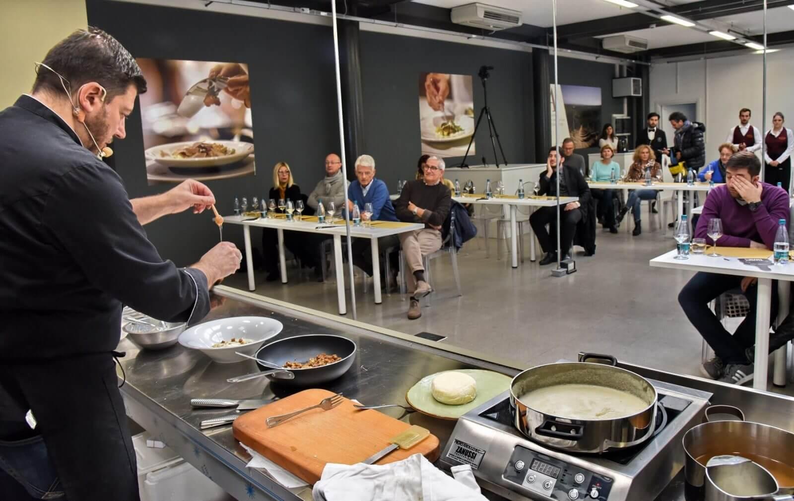 truffle cooking class in asti