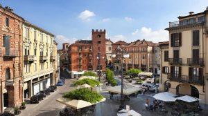 Piazza Statuto Asti city Piedmont